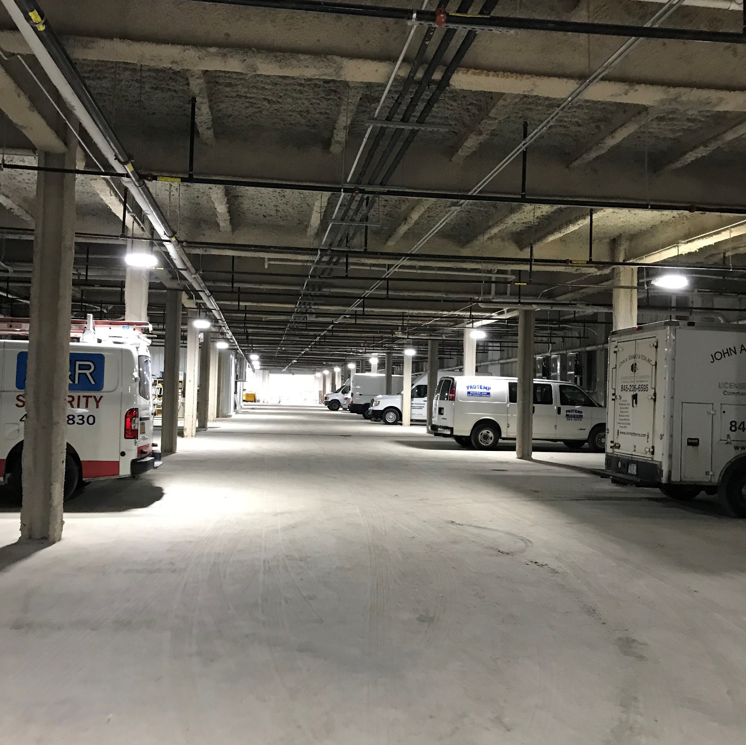 Parking Garage Electrical Project